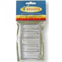Кембрик силиконовый Stonfo 30-5 диам. 0,7-1-1,2-1,5-2,0мм