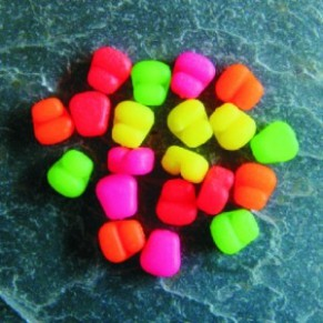 Mini Mixed Fluoro Colours Stopper Corn - Фото