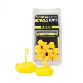 Avid Carp Maize Stops Floating  - Short Yellow стопоры - Фото