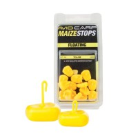 Avid Carp Maize Stops Floating  - Long Yellow стопоры