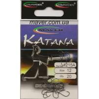 """Крючек """"Katana"""" Япония(20 шт/уп).- 1215A №8 Maver"""