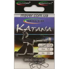 """Крючек """"Katana"""" Япония(20 шт/уп).- 1215A №10 - Фото"""