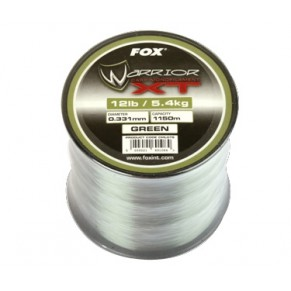 Warrior XT Carp Line Green 20 lb 0.38mm леска Fox - Фото