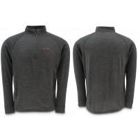 Downunder Merino Mid Zip Top Charcoal L блуза Simms
