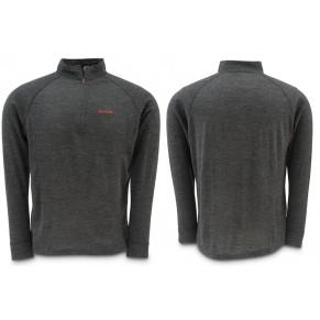 Downunder Merino Mid Zip Top Charcoal XL блуза Simms - Фото