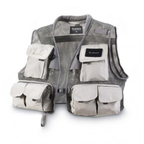 Headwaters Mesh Vest Gunmetal M жилет Simms - Фото