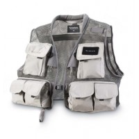 Headwaters Mesh Vest Gunmetal L Simms