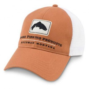 Trout Trucker Cap Orange Simms - Фото
