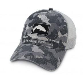 Trout Trucker Cap Camo кепка Simms - Фото