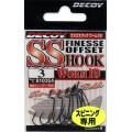 S.S Hook Worm 19 n2, 9шт крючок Decoy