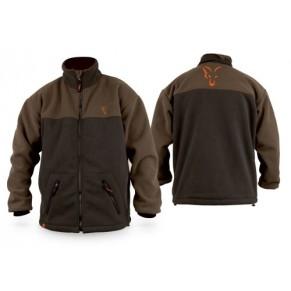 Two Tone Fleece Jacket Options X-Large Fox - Фото