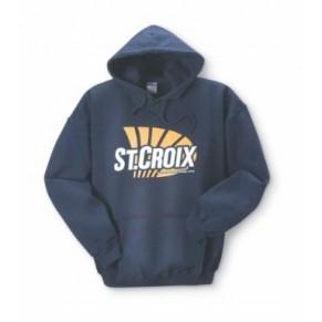 Sweat Shirt/Navy XXL реглан с капюшоном St.Croix - Фото