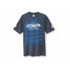 T-Shirt/Priority Fish/Navy M St. Croix - Фото