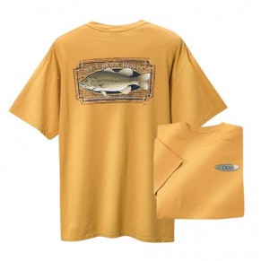T-Shirt/SS/Bass/Mustard XL футболка St.Croix - Фото