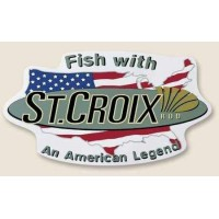 7''X3''  Fish W / An American Legend St. Croix