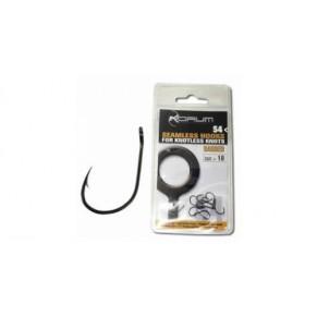 S4 Barbed Hook Size 18 крючки Korum - Фото
