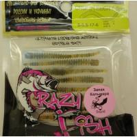 Cruel Leech силикон  8-5.5-17-6 кальмар Crazy Fish