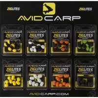 Ziglites 10 Balls Black/Orange Avid Carp