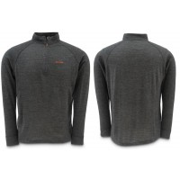 Downunder Merino Mid Zip Top Charcoal S Simms