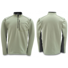 Guide Fleece Top Sterling/Coal L блуза Simms - Фото