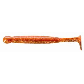 Grass Minnow 85mm 172 Wangan Orange 8шт силикон Ecogear - Фото