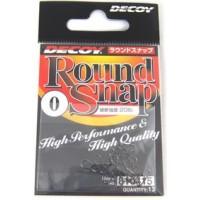 Round Snap 00 18lb 13шт застежка Decoy