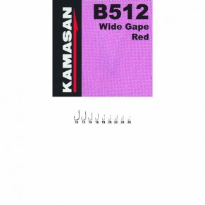 B512-020 KAMASAN  Крючки *10 - Фото