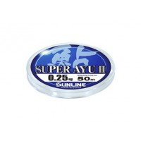 Super Ayu II 50м HG #0,175 0.069мм леска Sunline