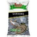 3000 Gardons Big roach black большая плотва черная 1кг прикормка Sensas