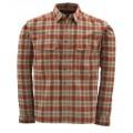 Coldweather Shirt Redwood Plaid M рубашка Simms