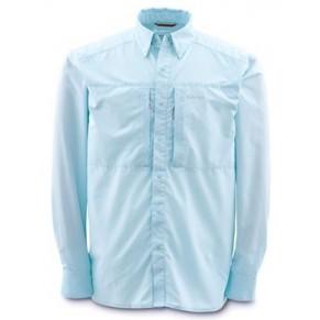 Ultralight Shirt Ice Blue L рубашка Simms - Фото