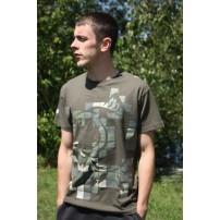 T-Shirt Green M Nash