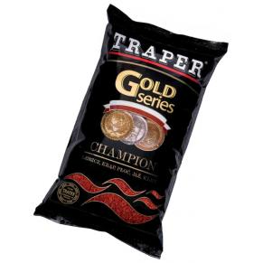 Gold 1кг Champion красная прикормка Traper - Фото