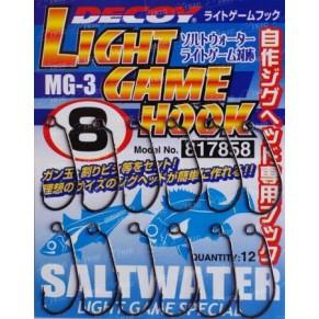 MG-3 Light Game 8, 12шт. крючок Decoy - Фото
