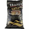 Gold 1кг Concours черная прикормка Traper
