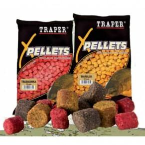 Pellets 6mm/1kg Strawberry Traper - Фото