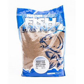 Fish Frenzy Method Mix Monster Crab And Shellfish 1kg Nash - Фото