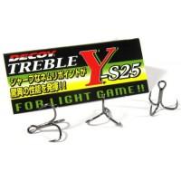 Y-S25 Treble 12, 8шт крючок Decoy