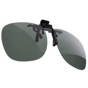 Очки с прищепкой на козырек кепки grey - Фото