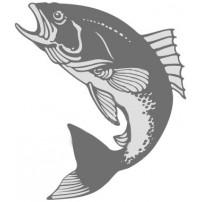 Chartreuse/Red/Orange/Blue-Gamefish (рыбный...