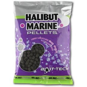 Halibut Marine Pellets 4.0mm 900g пеллетс Bait-tech - Фото