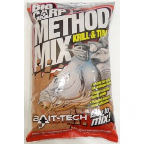 Big Carp Method Mix: Krill & Tuna 2k Bait-Tech - Фото