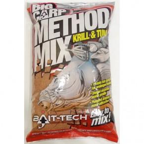 Big Carp Method Mix: Krill&Tuna 2kg прикормка Bait-Tech - Фото