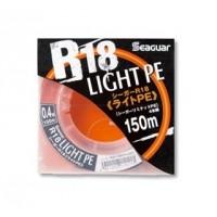 R18 Light PE х4 150м #0.4/8 lb шнур плетеный Seaguar