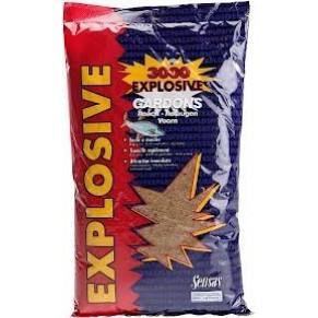 3000 Explosive лещ 1кг прикормка Sensas - Фото