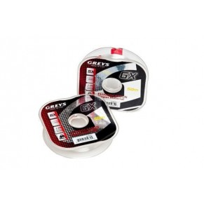 GX Fluoro 50m 3.5lb 5x 0.16mm Greys - Фото
