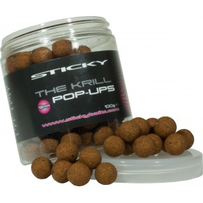 The Krill Pop Ups 12mm Sticky Baits - Фото