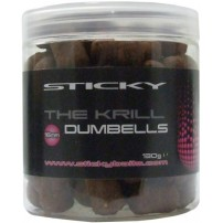 The Krill Dumbells 12mm бойлы Sticky Baits