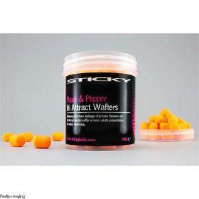 Peach&Pepper Wafters Tub бойлы Sticky Baits - Фото