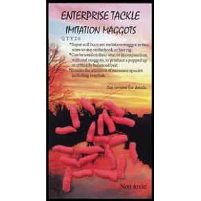 Imitation Maggots Red насадка Enterprise Tackle - Фото